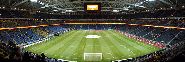 Friends Arena panorama